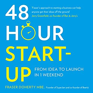 48-Hour Start-Up: From Idea to Launch in 1 Weekend cover art