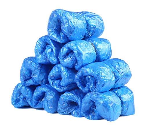 Alien Storehouse Plastik 100 Stück Schuh & Stiefelabdeckung Für Home Schuhabdeckmaschine Einweg-Schuhüberzug, blau