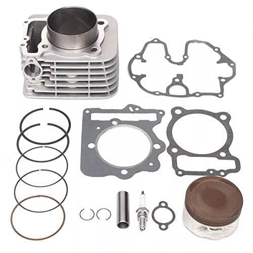Motorrad-Komponenten Zylinderkolbendichtung Top End-Kit for Motorrad XR400R 1996-2004, einfach zu bedienen.