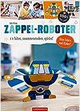Zappel-Roboter: 6 x falten, zusammenstecken, spielen! (100% selbst gemacht)