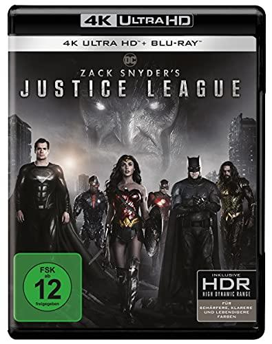 Zack Snyder's Justice League (4K Ultra HD) [Blu-ray]