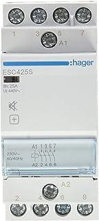 hager -contacteur bakre ljuddämpare ESC425S 25A 4NA 230 V