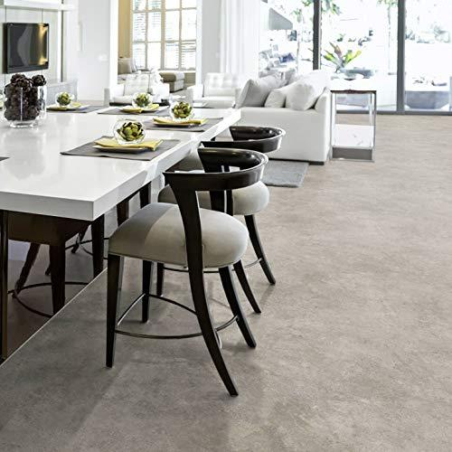 PVC Bodenbelag Beton Stein Grau Tarkett 260D Rock Grey Black (Musterstück in DIN A4)
