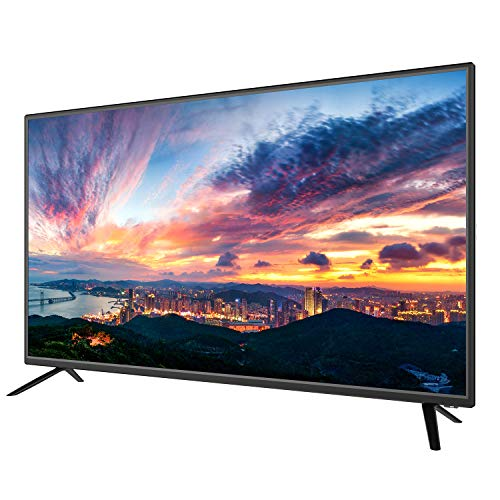 Sansui 40-Inch 1080p FHD DLED TV (S40P28F) Lightweight Slim Built-in with HDMI, USB, VGA, High Resolution Bundle with 6.5 ft HDMI Cable and Accessories