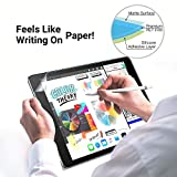 [2pack] Ipad pro 12.9 Paper Screen Protector,(2015-2017 1st &2nd Generation,with Home Button)/Anti-Scratch/Anti-Glare/Compatible with Apple Pencil &Face ID ipad pro 12.9-inch PET Film