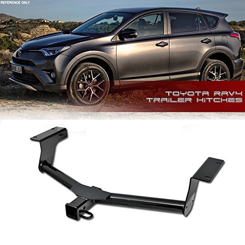 VXMOTOR ( for 06-12 Toyota RAV4 (for 13-16 Toyota RAV4 Non-Electric Model) - Class 3 III - Trailer Towing Hitch Mount Receiver Rear Bumper Utility Tow KIT 2' SUV AWD