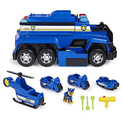 PAW Patrol Mega Camion della Polizia 5 in 1 di Chase con luci ed effetti sonori, dai 3 anni - 6058329