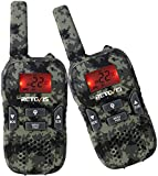 Retevis RT33 Walkie Talkie for Kid Handheld Two Way Radio with VOX Flashlight