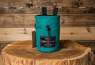 STATIC Canvas Chalk Bag | Teal (Made in the USA)