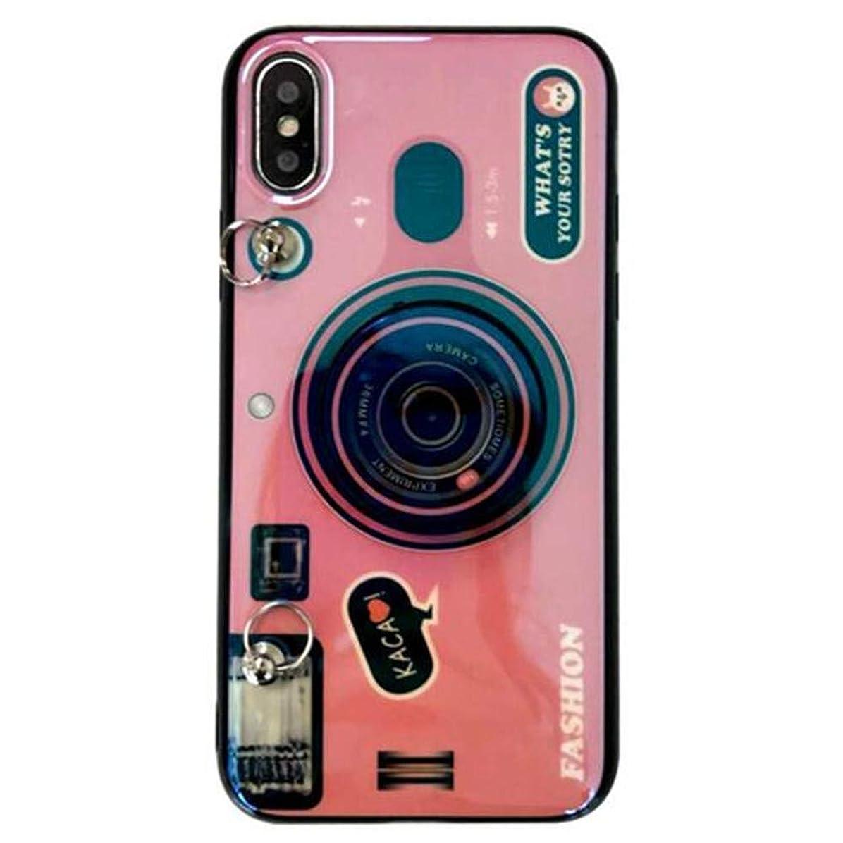 キャンプ誇り任命該当するiPhone X/iPhone XS/iPhone XS Max携帯電話ケーススリングストラップトレンド女性の携帯電話ケース