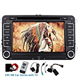 7 din pollici GPS Car DVD Player Eincar doppi Nel cruscotto VW autoradio con schede GPS 8GB Sat Navi incorporato autoradio Bluetooth TV analogica unit¨¤ principale Canbus inclusi supporto FM AM RDS Aux autoradio GPS