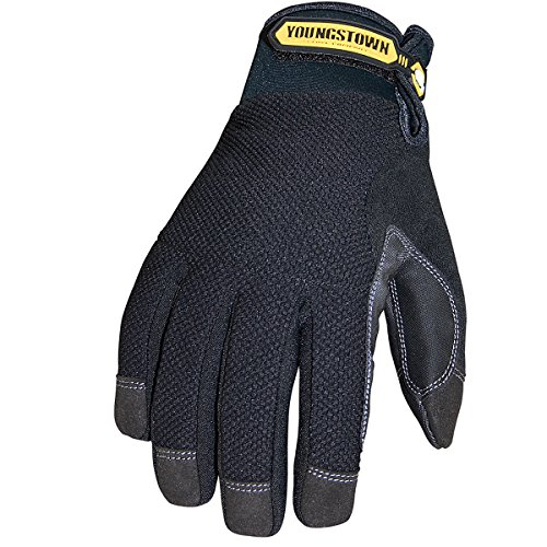 Youngstown Glove 03-3450-80-XL Waterproof Winter Plus Performance Glove XLarge, Black