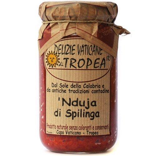 NDUJA DI SPILINGA by Delizie Vaticane 280g (Spicy Spreadable Italian...