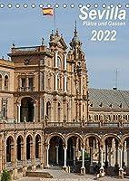 Sevilla, Plaetze und Gassen 2022AT-Version (Tischkalender 2022 DIN A5 hoch): Impressionen aus Sevilla im Hochformat, Tuerme und Denkmaeler und mehr (Monatskalender, 14 Seiten )