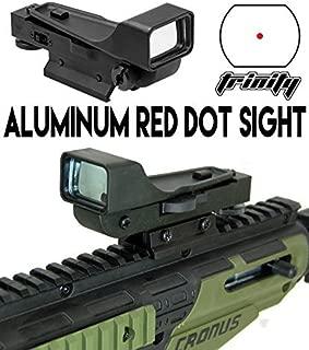 Trinity Aluminum Reflex red dot Sight fits tippmann Alpha Black Elite Paintball Marker Accessories Tactical woodsball Paintballing Optics Accessory Paintballer Gear Upgrades.