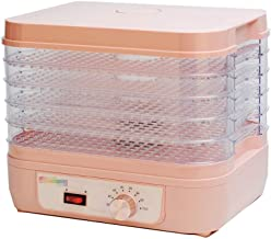 Food Dehydrator, Temperature Setting Dry Fruit Machine Fruit and Vegetable Food Drying Household Small Pet Food Dehydration for Kitchen Food Preservation 5 Trays