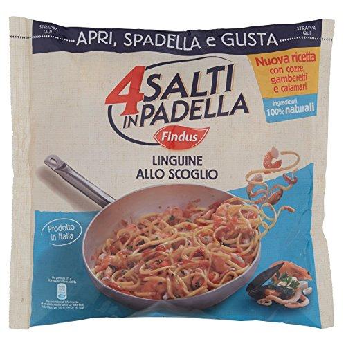 4 Salti in Padella Findus - Linguine allo Scoglio, 550g