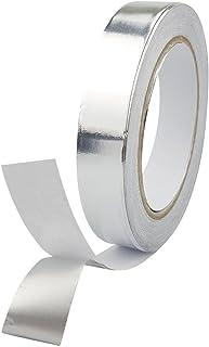 Dorjeey 導電性 アルミ箔テープ 20mm幅 20m 熱伝導性,耐熱性,耐候性 アルミ箔