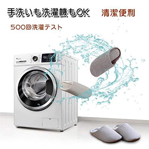 GuanZo『洗えるスリッパ2足セット』