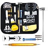 Baban 147pcs Watch Repair Tool Kit Professional Tool Kit Watch Back Case Holder