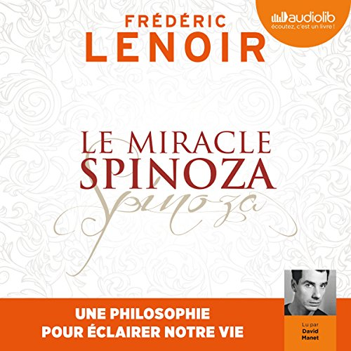 Le Miracle Spinoza audiobook cover art