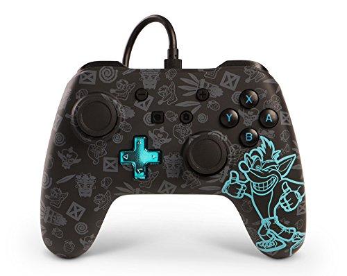 Manette filaire pour Nintendo Switch - édition Crash Bandicoot
