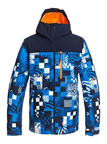 BILLABONG Quiksilver Morton - Chaqueta Para Nieve Para Hombre Chaqueta Para Nieve, Hombre, brilliant blue radpack, L