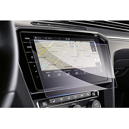 GAFAT V*W Passat GTE Variant Alltrack B8 9.2 pulgadas Navigation Protector de pantalla de cristal blindado para coche GPS 9H Antiarañazos
