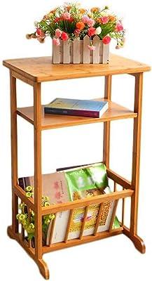Table HUO d'appoint de canapé 2 étages, de téléphone/café/thé/Stockage Rack-41.5 * 37 * 71cm