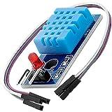 AZDelivery DHT11 Breakout Modulo Sensor de Temperatura y Humedad con Placa y Cable compatible con Arduino con E-Book incluido!