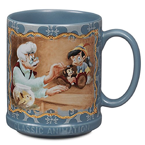 Disney Store Pinocchio Tasse Peter Pan Classic Animation Collection Kaffeetasse
