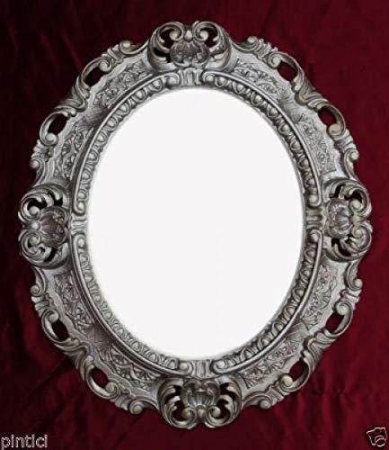 Artissimo fotolijst, zilver, ovaal, fotolijst, barok, 45X37, spiegellijst, 3045