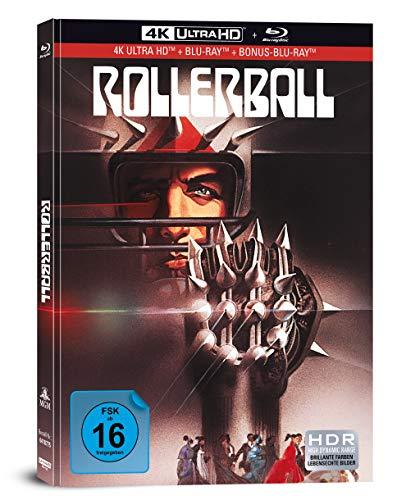 Rollerball - 3-Disc Limited Collectors Edition im Mediabook (4K Ultra HD/UHD + Blu-Ray + Bonus-Blu-Ray)