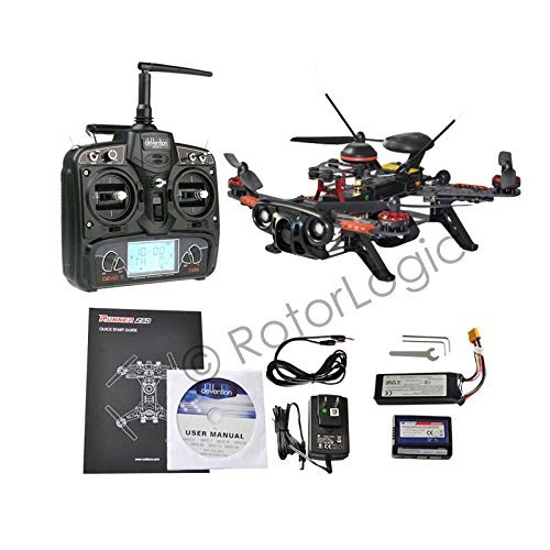 Walkera Runner 250 Advance GPS Race Quadcopter with DEVO 7 Remote Controller and 1080P HD FPV Camera