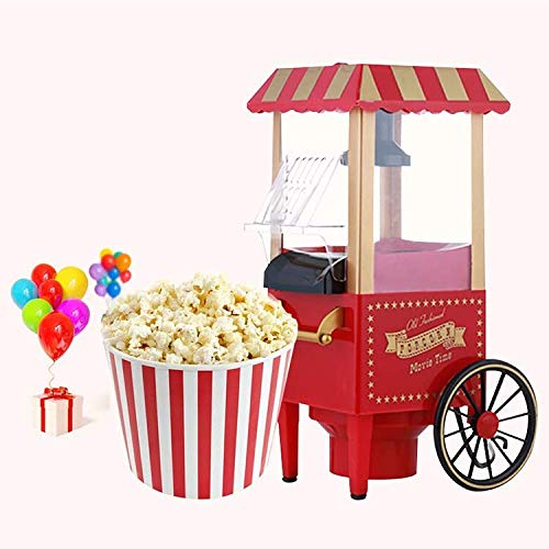 Affordable ZRXRY Popcorn Popper Maker, Household Popcorn Maker for Healthy Snacks, 1200W Electric Po...