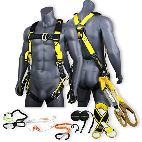 top 10 fall protection kits SUPERCELL KwikSafety KIT (Charlotte, NC) | 3D full body buckle belt, 6ft cord,…