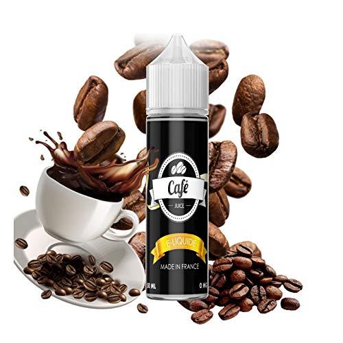 E-liquide Café 50 ml 50/50 PG/VG Vap'fusion - Sans nicotine ni tabac