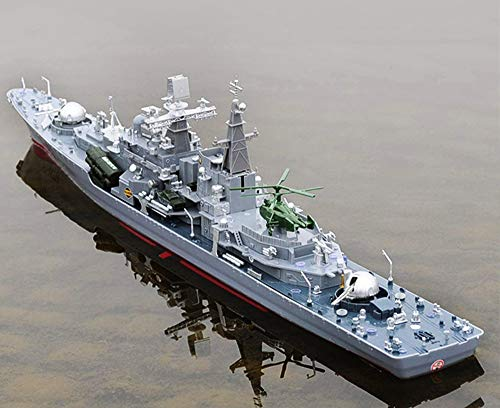 31' Inch Remote Controlled Warship Battleship 6.8km/h 2.4G Rc Radio Controlled Ship On Water Lakes Pools Exhibits Models