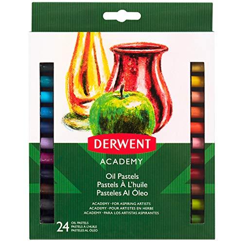 Derwent - Set de 24 pinturas pastel al óleo