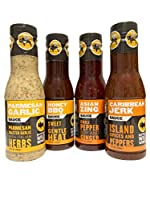 Saucy options from Buffalo Wild Wings to satisfy everyone's taste buds Parmesan-roasted garlic with Italian herbs; Honey BBQ is sweet and sassy Asian Zing contains chili pepper, soy, and ginger Carribean Jerk has red pepper and all the spices of the ...