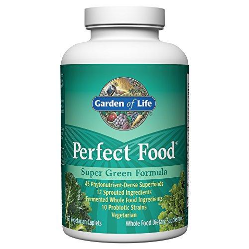 Garden of Life - Fórmula verde estupendo del alimento perfecto - 150 Caplet vegetarianos