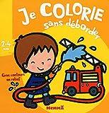 Je colorie sans déborder (2-4 ans) (Pompier) T5a