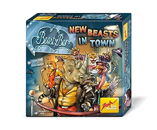 Zoch Beasty Bar New Beasts in Town-Juego Cartas XXL (a Partir de 8 años), Multicolor (601105056)