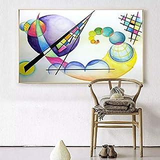 ganlanshu Peinture sans Cadre Mural Feuille Artiste Maison Peinture décorative Mur..