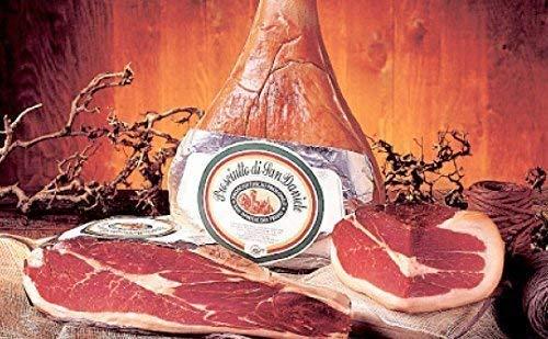 """2,2Kg mind 16 Monate luftgetrockneter Rohschinken Prosciutto di San Daniele DOP natürlich gereift *Premium Qualität* ohne Knochen - \""""Gambero Rosso\"""" Preisgekrönt"""