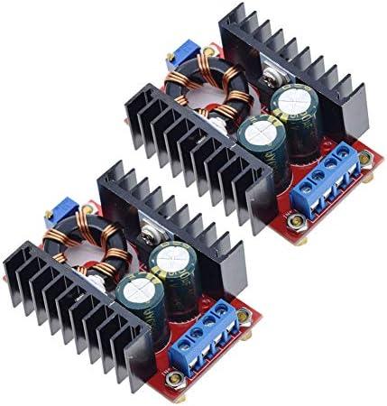 ANMBEST 2PCS Boost Converter Module DC 10 32V to 12 35V Adjustable Step Up Voltage Regulator product image