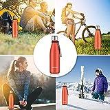 Zoom IMG-2 newdora bottiglia acqua in acciaio