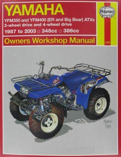 Yamaha Yfm350 Atv Owners Worksho...