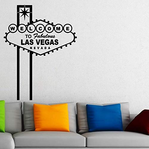 Baobaoshop Pegatinas de Casino Calcomanías de Juego Gambling Poker Poster Vinyl Wall Decals Home Decor Mural Casino St 58 * 76cm Custom