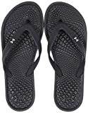 Under Armour Women's Atlantic Dune T Flip-Flop, Black (002)/Black, 9